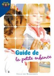 Guide de la petite enfance (pdf - 1,56 Mo) - Suresnes
