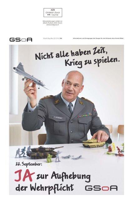 Zeitung im PDF-Format runterladen - Gruppe für eine Schweiz ohne ...
