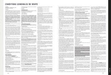 I CONDITIONS GÉNÉRALES DE VENTE - La Maison du Whisky