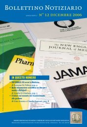 Dicembre 2006 - Ordine dei Medici di Bologna