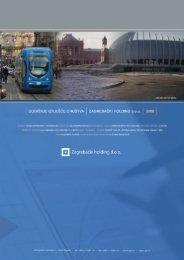 Godišnje izvješće društva Zagrebački holding d.o.o. za 2008. godinu