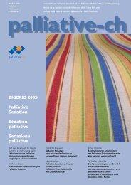 BIGORIO 2005 Palliative Sedation Sédation palliative ... - Palliative ch