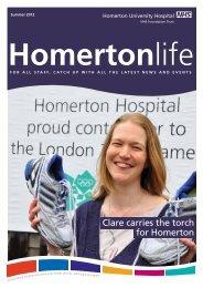 Homertonlife - Summer 2012 - Homerton University Hospital