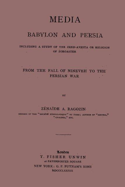 Babylon And Persia