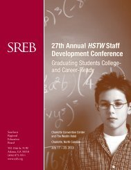 27th Annual HSTW Staff Development Conference - Southern ...