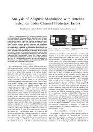 Analysis of Adaptive Modulation with Antenna ... - Lintech.org