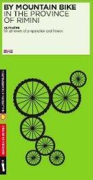 2013 RN_mountain bike_schede_EN.pdf - Emilia Romagna Turismo