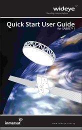 Wideye Sabre 1 Quick Start Guide - Roadpost