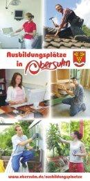 Ausbildungsplätze in Obersulm - Gemeinde Obersulm