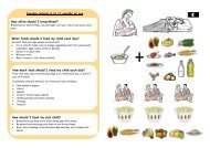 Counseling Tool on Complementary Feeding - Linkages Project