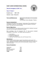 Year 11 Term 1 Text and References: Special Home Education