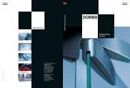 Glas, Stahl und DORMA. - Aluminium-Haustüren direkt