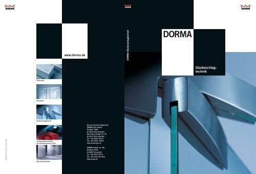 8 mm x 120 mm DORMA Wechselstift PR 115 Vierkant