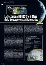 La Settimana MPE2013 e il Mese della ... - xlatangente