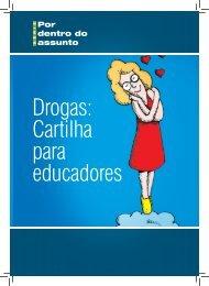 Drogas: Cartilha para educadores - Ministério da Justiça