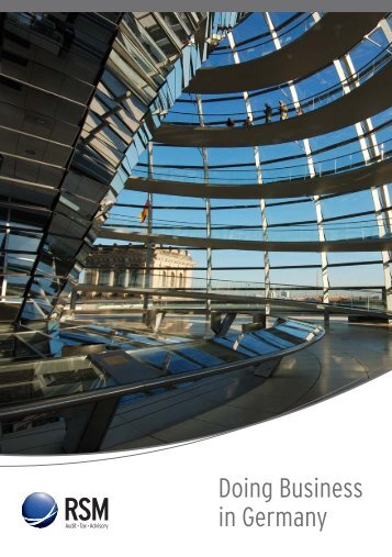 Doing Business in Germany - rsmi.at