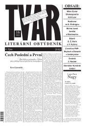 Tvar 16/2001