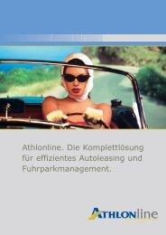 behalten Sie den Überblick. - Athlon Car Lease