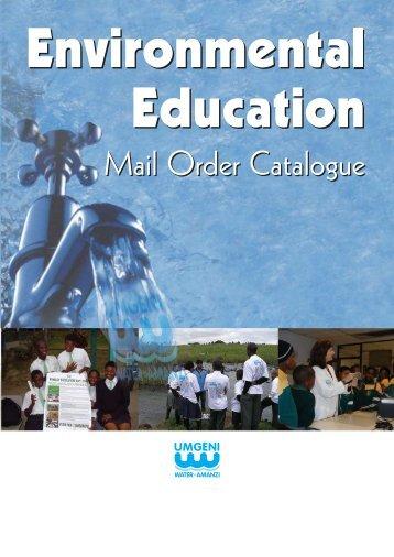 Mail Order Catalogue - Umgeni Water
