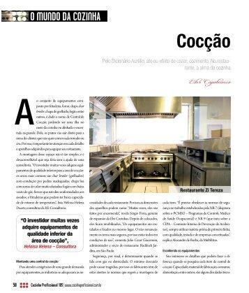 Cocção - Cozinha Profissional