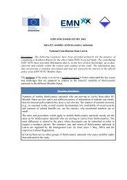 EMN FOCUSSED STUDY 2012 Intra-EU mobility of third-country ...