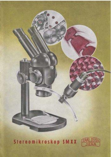 Stereomikroskop SM XX - Optik-Online