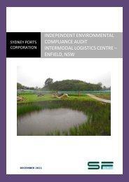 independent environmental compliance audit intermodal logistics ...