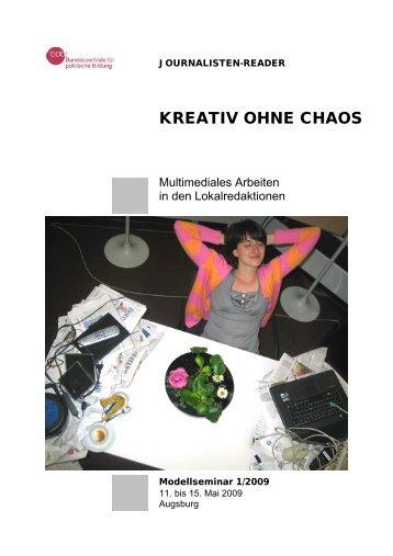 Kreativ ohne Chaos Multimediales Arbeiten in den ... - Drehscheibe