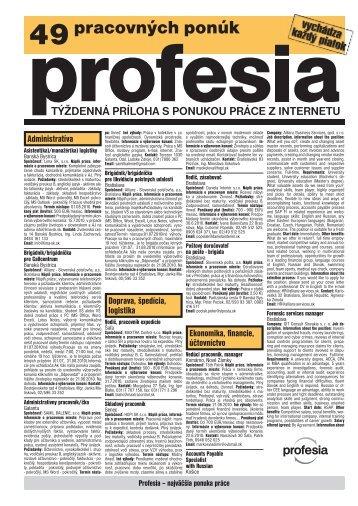 18.06.2010 - Profesia.sk