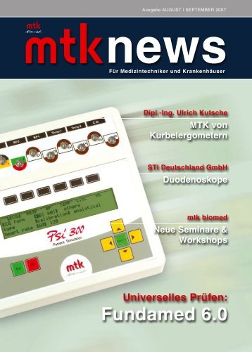Fundamed 6.0 - MTK Peter Kron GmbH
