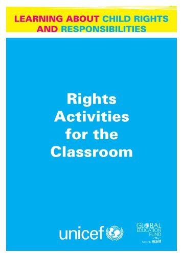 LeARning About ChiLd Rights And ResponsibiLities - Unicef