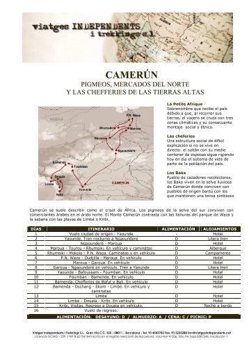 CAMERÚN - Viatges Independents