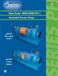DEAN PH Bulletin - Pristine Water Solutions Inc.