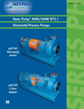 DEAN PH Bulletin - Pristine Water Solutions Inc.