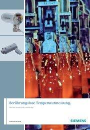 Berührungslose Temperaturmessung - Siemens