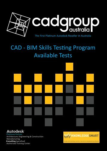 Available Tests1.pdf - Cadgroup