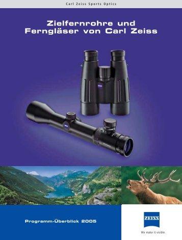 Zielfernrohre und Ferngläser von Carl Zeiss - Hoferwaffen.com