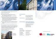 Augenoptik / Optometrie - Fakultät 06 - Hochschule München