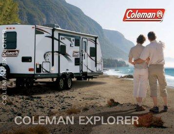 coleman explorer - RV Website Design and Development by UVS ...