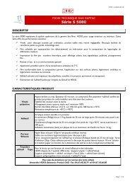 Vinyles adhésif Hexis : gamme Suptac - Promattex