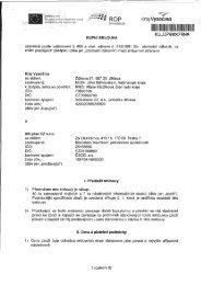 Elektronický obraz smlouvy (69548) - Extranet - Kraj Vysočina