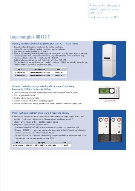 Logamax plus GB172 T - Buderus