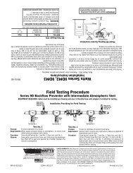 Watts Series 9DM2, 9DM3 Field Testing Procedure - Alpine Home ...