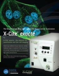 X-Cite® exacte - SCOP-PRO
