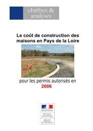 Enquête 2006 sur le prix des terrains à bâtir (EPTB) - DREAL des ...