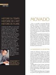 MOVADO - Magazine Sports et Loisirs