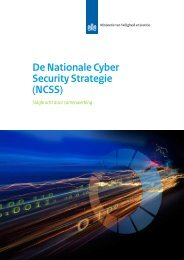 De Nationale Cyber Security Strategie - Nationaal Coördinator ...