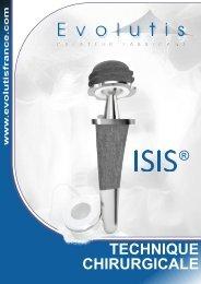 ISIS Technique opératoire - Biotech ortho