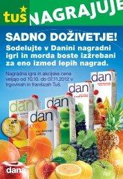 Nagradni kupon - Dana