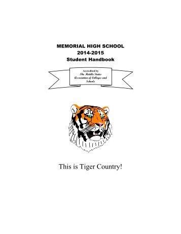 Student Handbook - West New York School